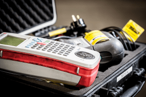 Electrical equipment used in the business